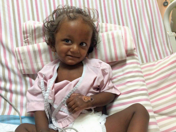 Baby Sumanth Has Sepsis After Being Treated For Dengue. Help Him Live