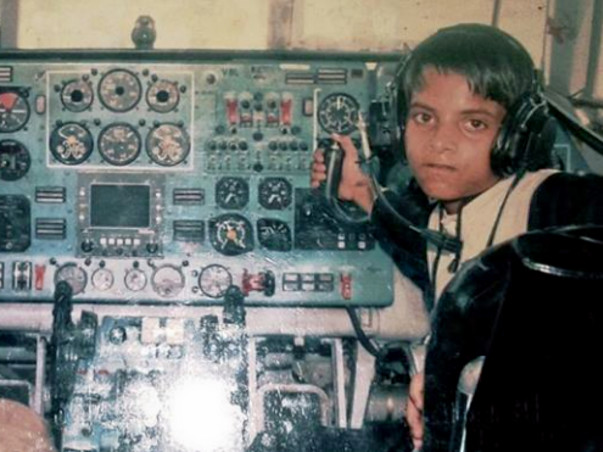 Help Puneet Become an Airline Pilot
