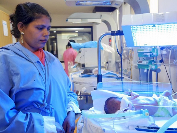 Support One-Month-Old Baby Of Rachita
