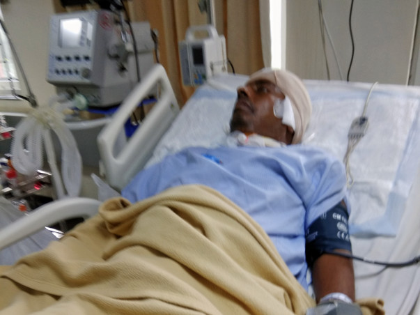 Help me to treat my father from brain surgery