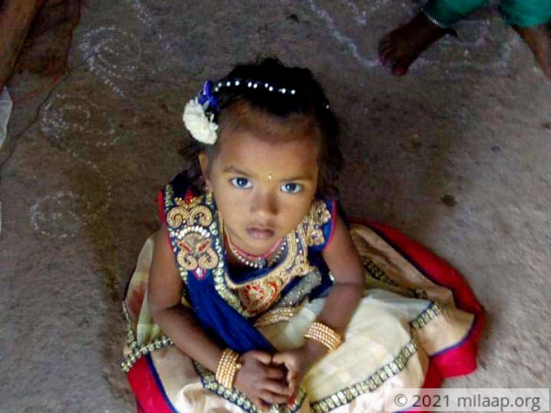 4 year old Padmini has been in coma and need your support to survive