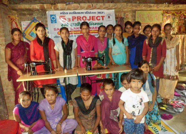 Providing to Livelihood thought Skill Training of Rural Women