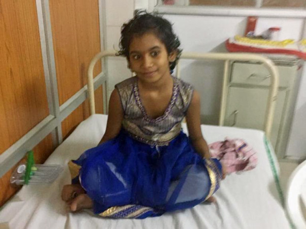 Friends let's show our kindness and help Shreeja recover from accident