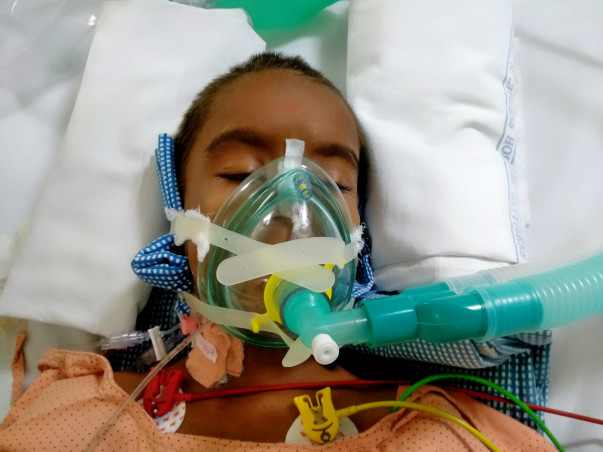 9-year-old Sai Had Seizures Lasting Over 48 Hours Damaging His Brain