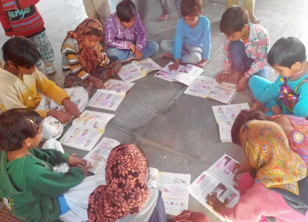 I am fundraising to build a library for the Sankhu and Khuddi villages in Rajasthan. Every support counts!