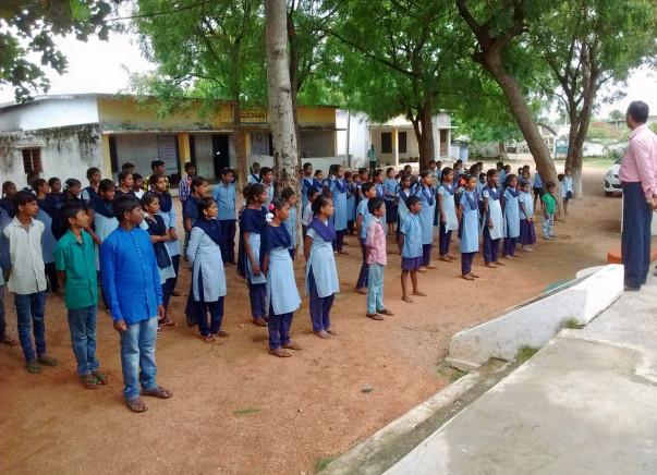 Support 127 Poor Students in Govt School And Plantation Activities.