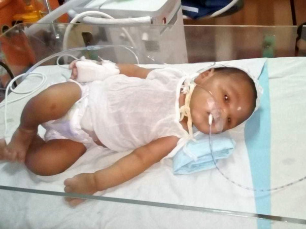 Help My Newborn Baby Boy Fight Against Hie Gr.iii With Sepsis.