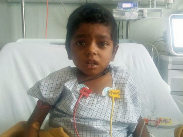 This Boy Is Racing Against Time To Survive Painful Liver Cirrhosis