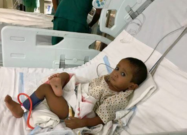 Little Lucky Will Not See His 2nd Birthday Without A Heart Surgery