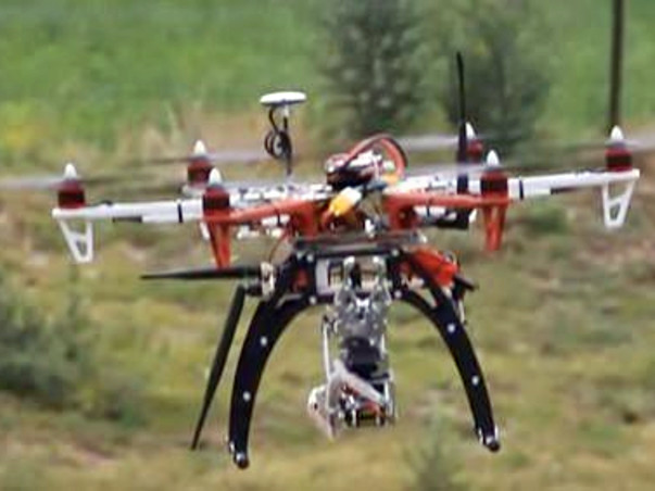 Support aerospace engineering students design a quad-copter drone