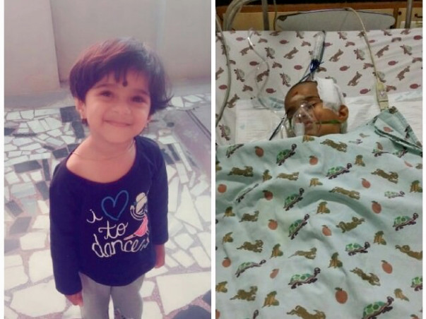 Help 2-Year-Old Varshika Fight With Brain Injury
