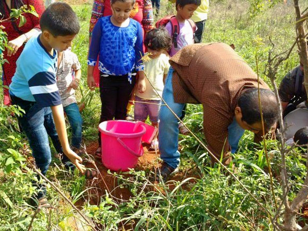 Support Tree Plantation Drive At Malur