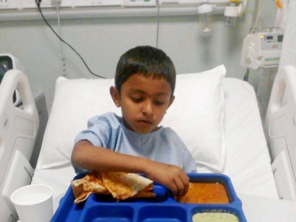 5-year-old Vinayak Needs Your Support To Recover From A Stroke