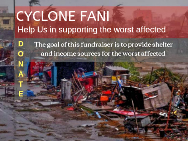 Relief Fund for the victims of Cyclone Fani