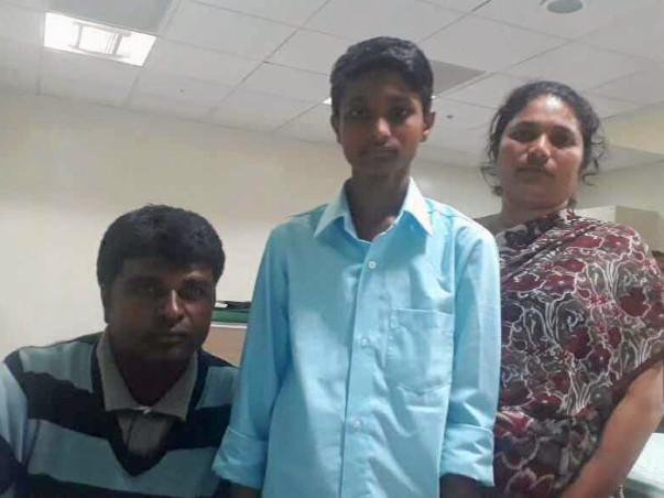 Help 12-year-old Sanju fight a severe bone marrow disease
