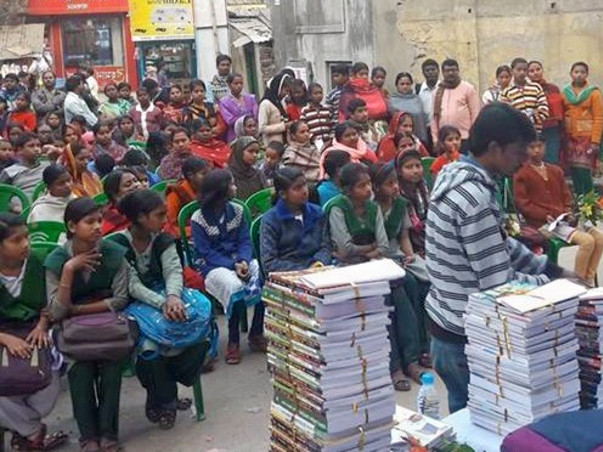 Help Us Distribute Text Books For Under Privileged Students