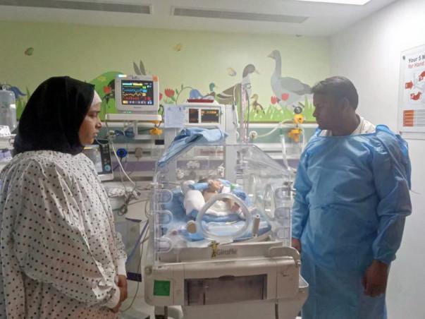 Help Baby Of Nazmeen Khan Who Is Under ICU