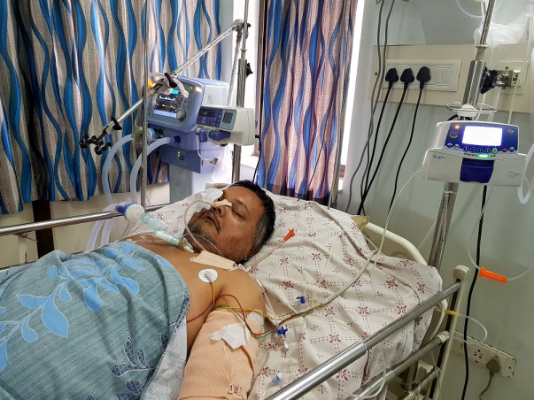 Help Save Ajay Who Is Fighting for Life After A Major Accident