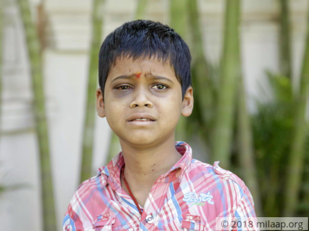 Help 10-year-old Sharat fight a severe blood condition