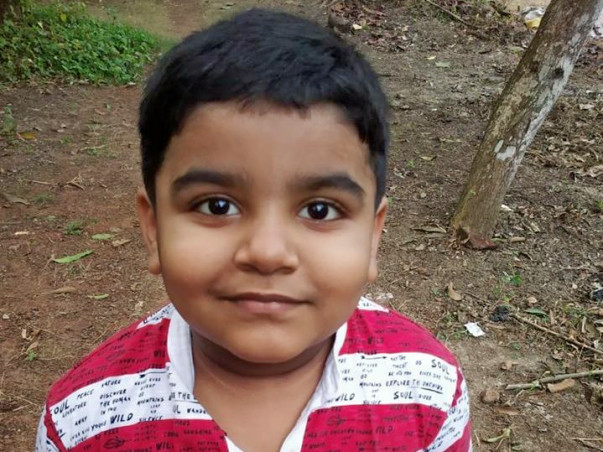 6 years old Shreyan Rath needs your help fight Undifferentiated Embryonal Sarcoma of Liver