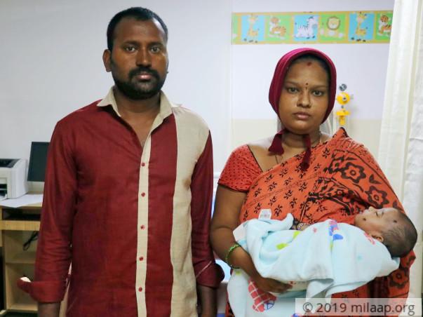 Help Baby of Ravi Kumar Undergo A COA Repair Surgery
