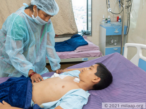Without an urgent transplant, Gnaneshwar will not survive