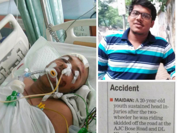 To Give New Life To A 20-Year-Old Who Met With An Accident