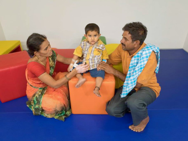 From the time he was 18 months old Mohan struggles with Liver disease