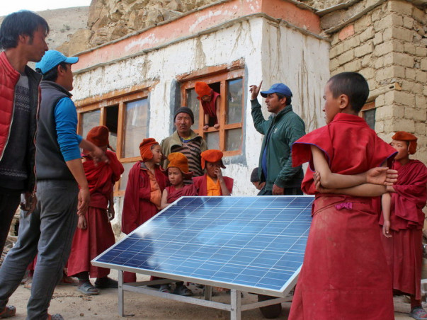 Electrify a village in Ladakh through the Global Himalayan Expedition