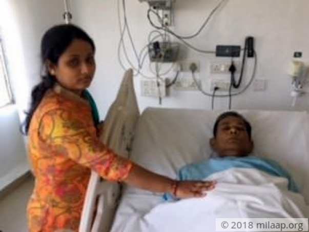 Help Mrinal fight a severe liver disease