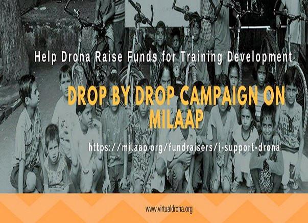 Drop by Drop: Support Training Development for Underprivileged Kids