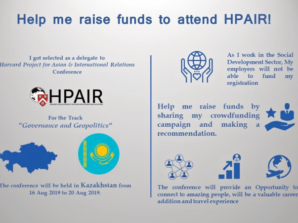 Help Saurabh Attend HPAIR Asia Conference 2019