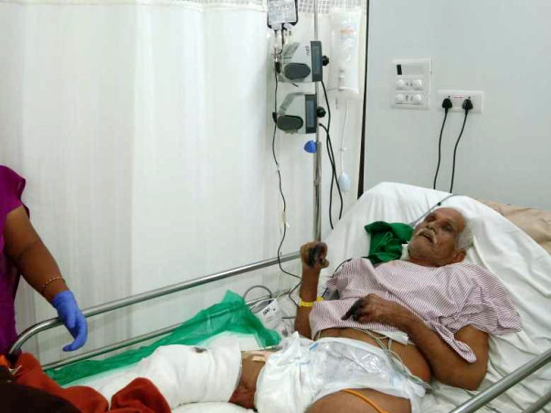 Help A Poor Farmer Recover From Cellulitis
