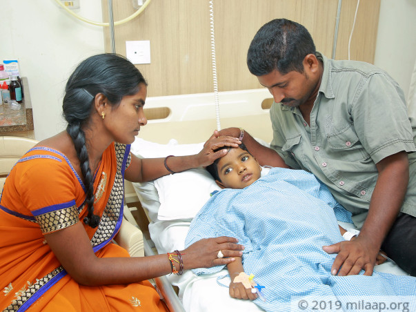 AP Auto Driver And School Aaya Fight To Save Their 4-year-old Son