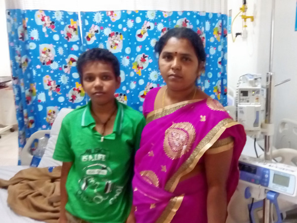Help This Single Mother Settle Piling Bills From Saving Her Son's Life