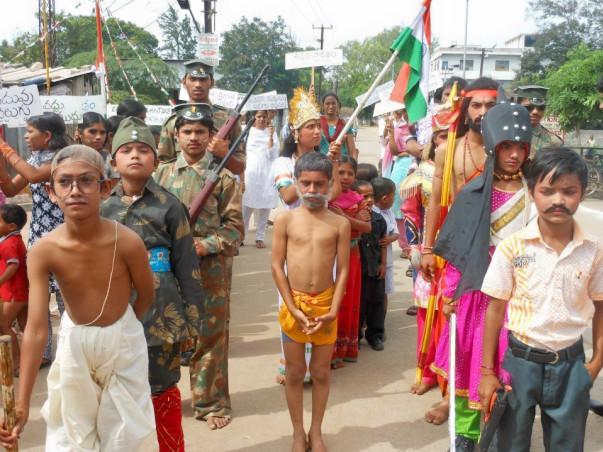 I am fundraising to akshaya Vidya -An Urbun Slum Education Project
