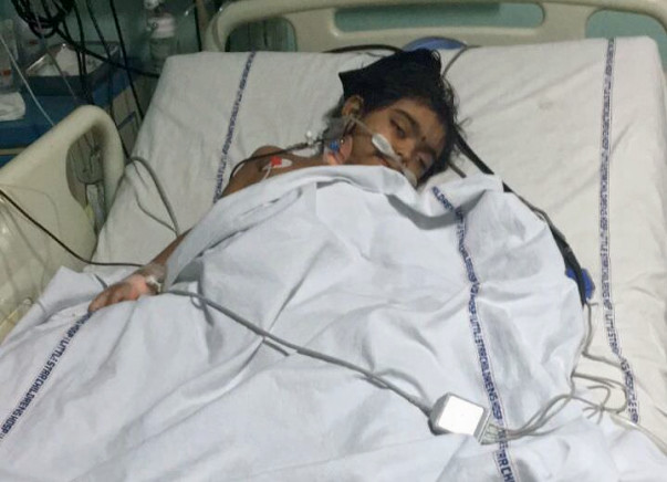 Help 4-year-old Darshini fight for her life in the ICU