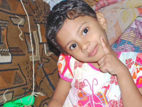 9-year-old Samruddhi has been fighting cancer for the last year