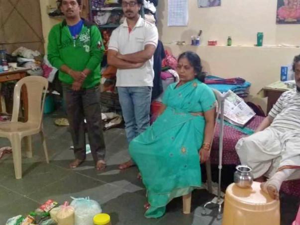 Help Sanjay Aide Old People