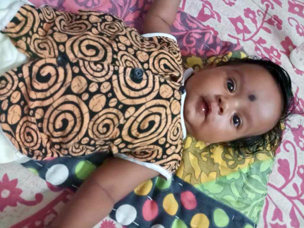 This 3-Month-Old Baby Girl Cannot Eat And Sleep, She Passes Blood