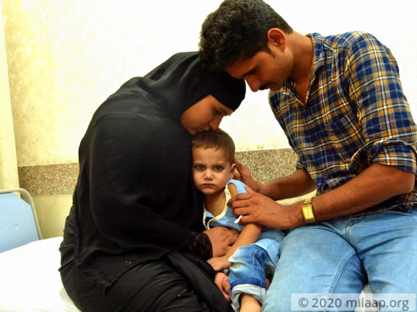 Help Afsar Recover From Congenital Heart Disease