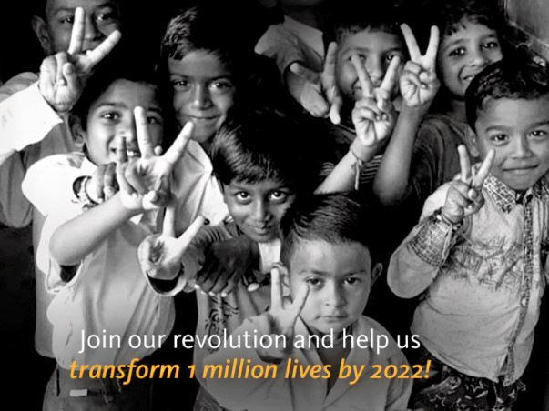 Join our Revolution to #EndMalnutrition in India