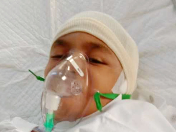 Help 09-year-old Dhruv Recover From Rare Brain Disease
