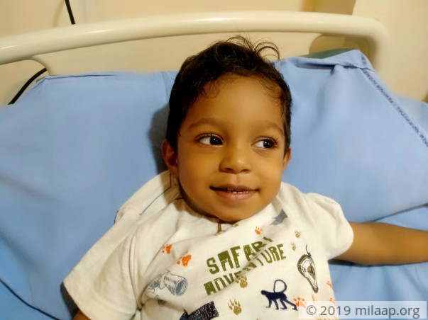 2-year-old born with a rare condition needs urgent surgery