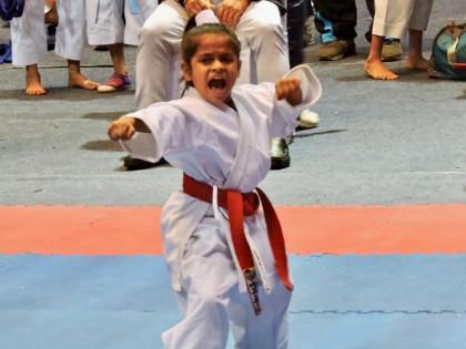 Help Arinjita the 10 year old Karate Girl win medals for