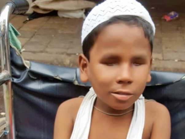 Help Raising Funds for blind boy rehmat,And  His Family