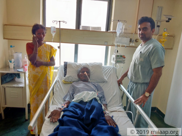 Rangaiah Cannot Eat Or Drink From A Serious Stomach Disorder