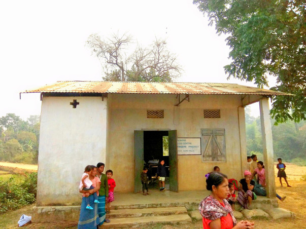 Upgrading Anganwadi Centers in rural Meghalaya