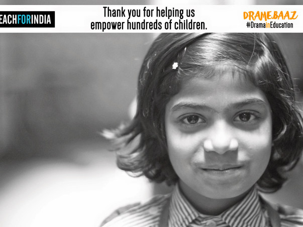Support Dramebaaz To Bring The Performer In 300 Kids In Mumbai