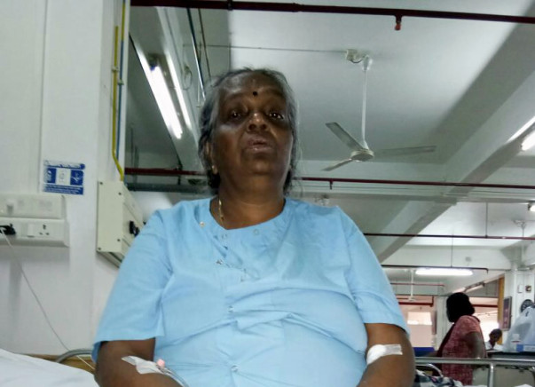 Help Mrs. Karthiyani Subramanian Fight Cancer